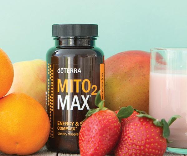 Mito2Max תוסף התזונה הטבעי לאנרגיה בתאים