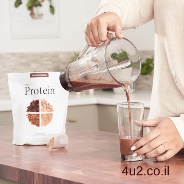 חלבון דוטרה בטעם שוקו